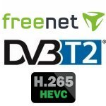 DVB-T2 Freenet Receiver