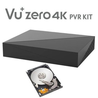 VU+ Zero 4K PVR Kit incl. 2TB HDD