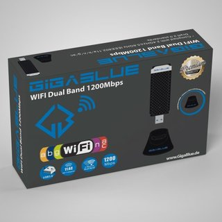 GigaBlue 1200Mbps Wlan/WiFi USB 3.0 DUAL Band Adapter