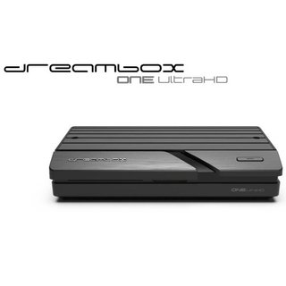 Dreambox One Ultra HD 2x DVB-S2X Multistream Tuner 4K 2160p E2 Linux Dual Wifi H.265 HEVC + MicroSD Card 256GB Silicon Power UHS-1 Elite/CL.10 Color + Adapter